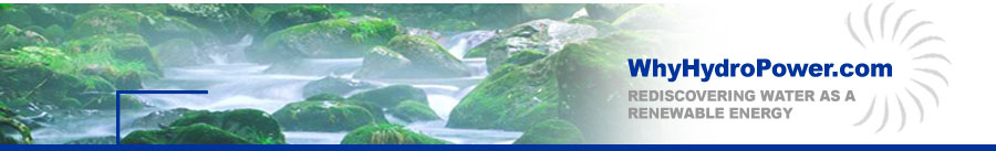 WhyHydroPower.com Banner